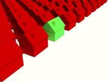 Einfache Häuser vektor abbildung