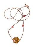 Einfache Halskette Stockfotos
