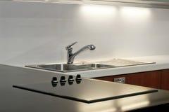 Einfache Küche Lizenzfreies Stockfoto