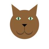 Einfache Katze Lizenzfreies Stockfoto