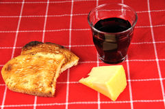 Einfache Mahlzeit Lizenzfreies Stockfoto