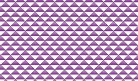 Einfache moderne abstrakte purpurrote und weiße karierte Raute deckt Muster mit Ziegeln Lizenzfreie Stockfotos