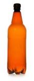 Einfache Plastikflasche Stockfoto
