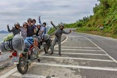 Einfache Reiter, Vietnam Lizenzfreies Stockfoto