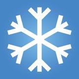 Einfache Schnee-Flocke Lizenzfreies Stockfoto