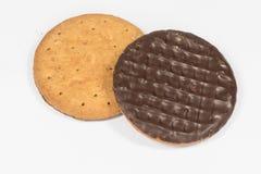 Einfache Schokolade verdauungsfördernd Lizenzfreie Stockbilder