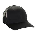 Einfache schwarze Kappe Lizenzfreie Stockfotos