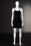 Einfache schwarze legere Kleidung Stockbild