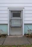 Einfache Seitentür Stockfotografie