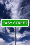 Einfache Straße Lizenzfreies Stockbild