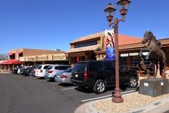 Einfache Straße in sorglosem AZ Stockbilder