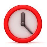 Einfache Uhr Lizenzfreie Stockbilder