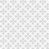 Einfache und würdevolle Blumenmusterdesignschablone, elegantes lineart Logodesign, Vektorikonenillustration Moderne Art Lizenzfreie Stockfotos