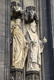 Einfache vektorabbildungen Köln-Kathedrale, Deutschland Stockbild