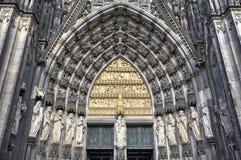Einfache vektorabbildungen Köln-Kathedrale, Deutschland Lizenzfreie Stockbilder