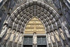 Einfache vektorabbildungen Köln-Kathedrale, Deutschland Stockfotografie