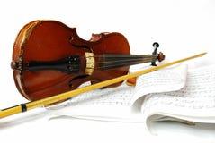 Einfache Violinen-noch Lebensdauer Lizenzfreie Stockfotos