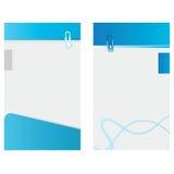 einfache Visitenkarten Stockbilder