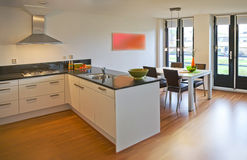 Einfache Wohnung Stockfoto
