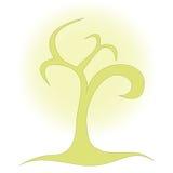 Einfacher Baum Stockbild