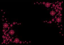 Einfacher Blumen-Hintergrund Stockfotografie