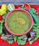 Einfacher Chili Verde Lizenzfreie Stockfotografie