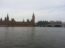 Einfacher grauer Tag in Westminster stockfotografie