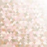 Einfacher Hintergrund mit farbigen Rauten Stockfotografie