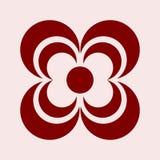 Einfacher Logo Abstract Community mit Farbe für Unternehmen Lizenzfreies Stockbild