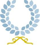 Einfacher Lorbeer Wreath Lizenzfreie Stockfotos