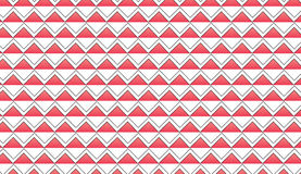 Einfacher moderner abstrakter roter Zickzack deckt Muster mit Ziegeln Lizenzfreies Stockfoto