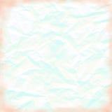 Einfacher neutraler blauer Hintergrund-Schmutz gefalteter Blick Lizenzfreie Stockbilder
