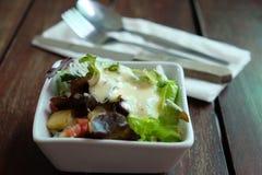 Einfacher Salat Lizenzfreie Stockbilder