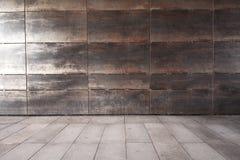 Wand und Bürgersteig lizenzfreie stockfotografie