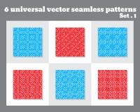 Einfaches abstraktes Vektormuster Geometrisches Muster mit Kreisen Allgemeine Anwendung Stockfoto