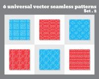 Einfaches abstraktes Vektormuster Geometrisches Muster mit Kreisen Allgemeine Anwendung Lizenzfreie Stockfotografie