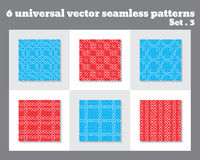 Einfaches abstraktes Vektormuster Geometrisches Muster mit Kreisen Allgemeine Anwendung Stockfotografie