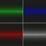 Einfaches abstraktes Vektormuster Geometrisches Muster mit Kreisen Allgemeine Anwendung Stockfotos