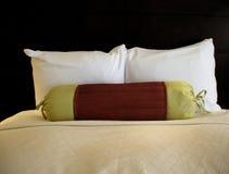 Einfaches Bett Stockbild
