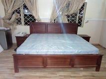 Einfaches Bett Lizenzfreies Stockbild