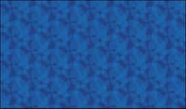 Einfaches blaues Glas- und Marmormuster Lizenzfreies Stockfoto