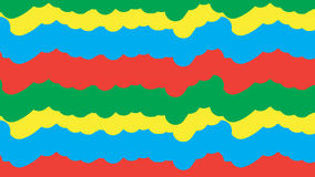 Einfaches buntes Sprühfarbemuster Stockfoto