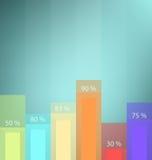 Einfaches Diagramm Stockfotos