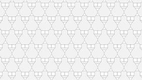 Einfaches einfarbiges abstraktes Dreieckmuster Stockfotos