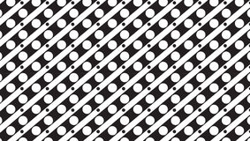 Einfaches einfarbiges Streifen- und Punktmuster Stockbilder