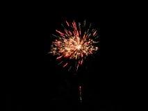 Einfaches Feuerwerk Lizenzfreies Stockfoto