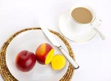 Einfaches Frühstück Stockbilder