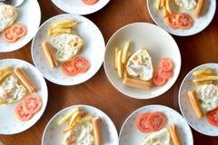 Einfaches Frühstück Lizenzfreie Stockfotos