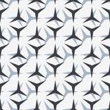 Einfaches geometrisches nahtloses Muster Lizenzfreie Stockfotografie