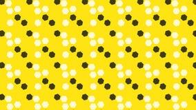 Einfaches Hexagonbienen-Bienenstockmuster Stockfotografie
